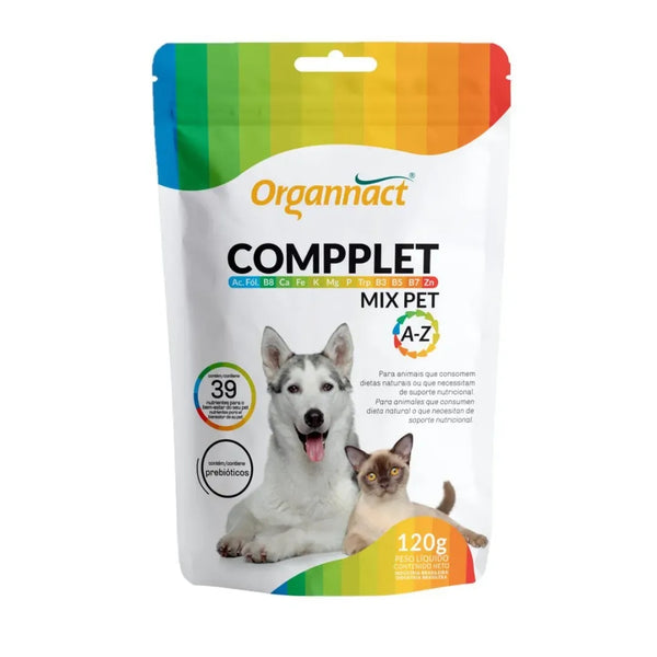 Suplemento Compplet Mix Pet A-Z Organnact 120g