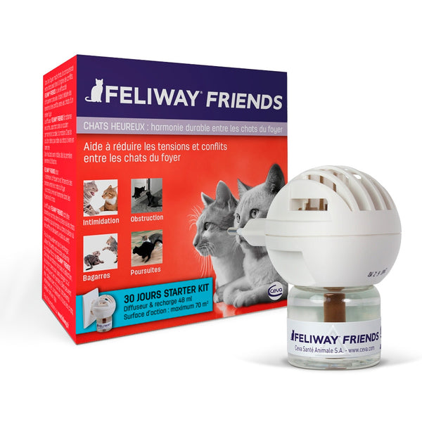 Feliway Friends Difusor + Refil 48 ml