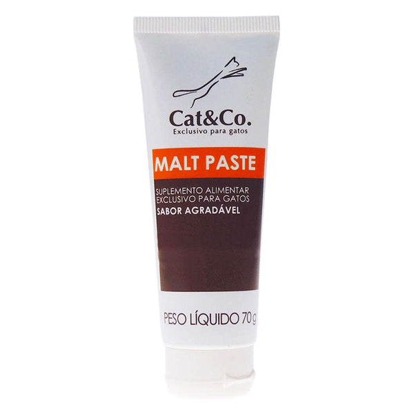 Suplemento Malt Paste Cat&Co. 70g