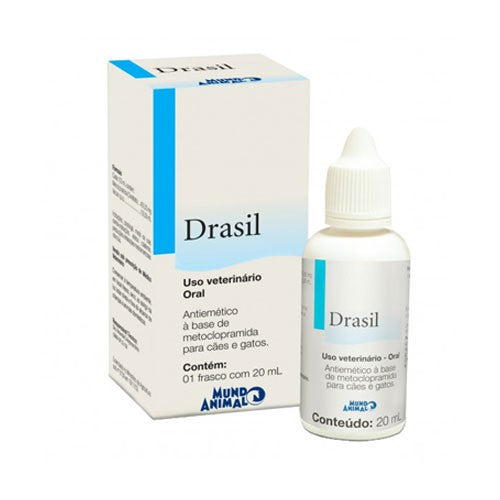 Drasil Antiemético Mundo Animal 20ml
