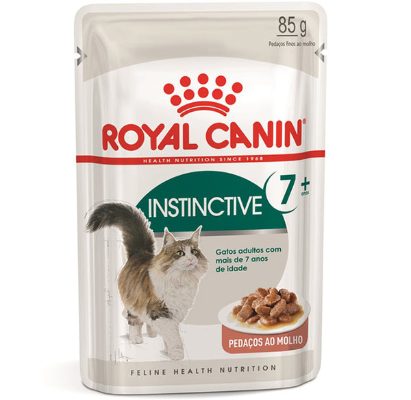 Alimento Úmido Royal Canin Gatos Instinctive 7+