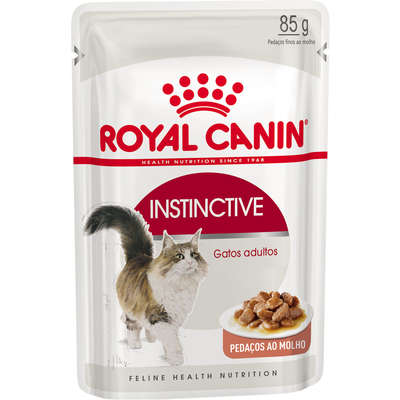 Alimento Úmido Royal Canin Gatos Instinctive
