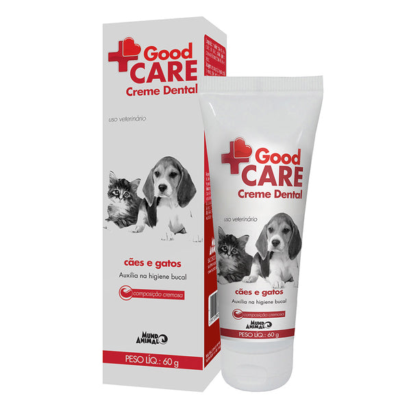 Good Care Creme Dental para Cães e Gatos 60g