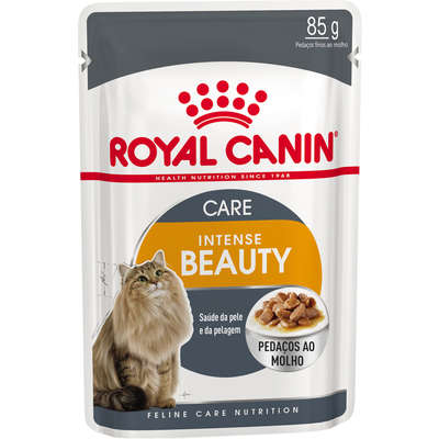 Alimento Úmido Royal Canin Cat Intense Beauty 85g