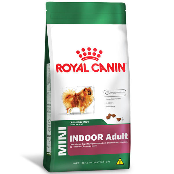 Ração Royal Canin Mini Indoor Adult Cães 1kg