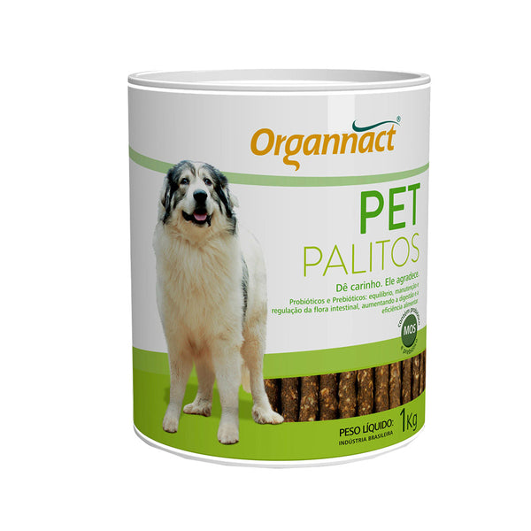 Pet Palitos Organnact 1kg