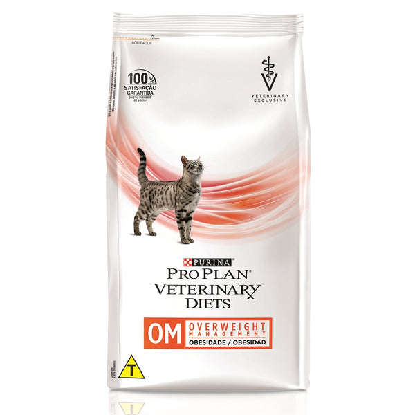 Ração Pro Plan Gatos Veterinary Diets Obesity Management 7,5kg