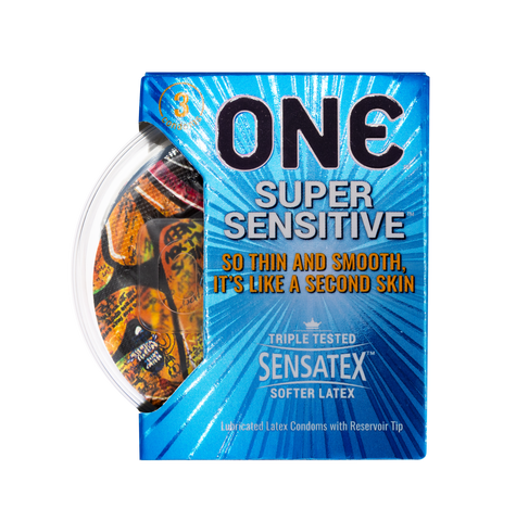 Super Sensitive Condom 3-Pack