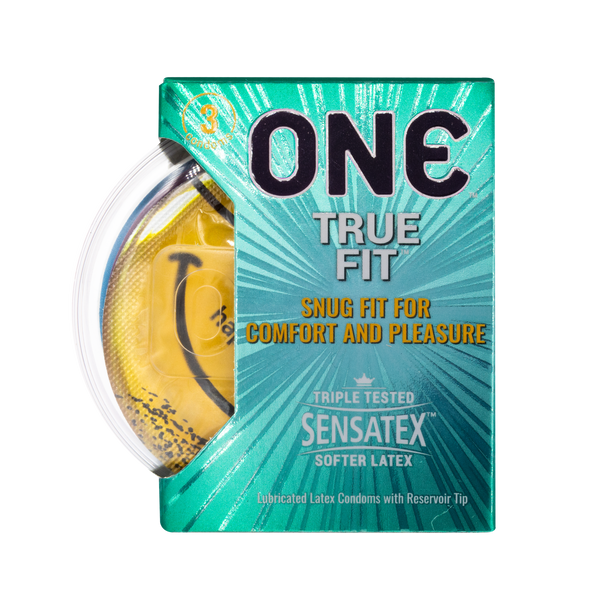 True Fit Condom 3-Pack