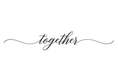 Together Vinyl Wall Decal