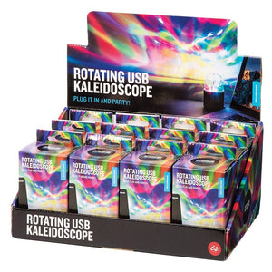 ROTATING USB KALEIDOSCOPE LIGHT