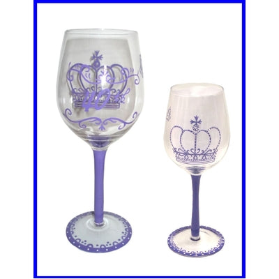 40th Celebrations Wine Glass