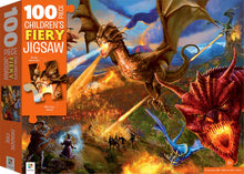 Load image into Gallery viewer, Dragons 100-Piece Children's Jigsaw by Hinkler