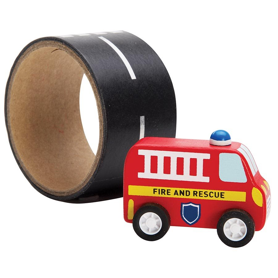 Emergency Rescue - Vehicle and Reusable Road Wooden