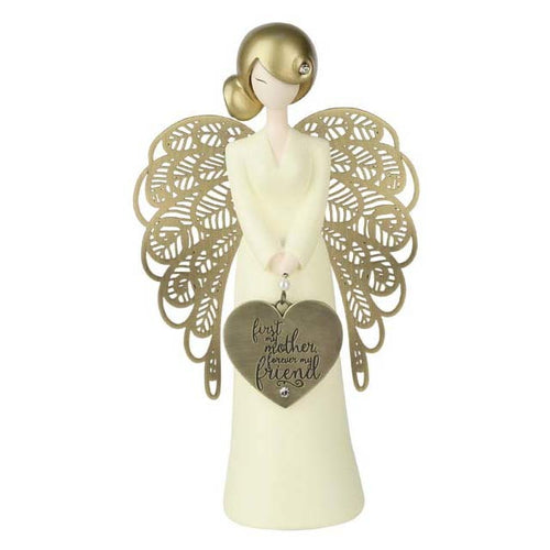 You Are An Angel Figurine - 1st My Mother, Forever My Friend
