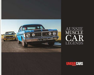 Aussie Muscle Car Legends Book