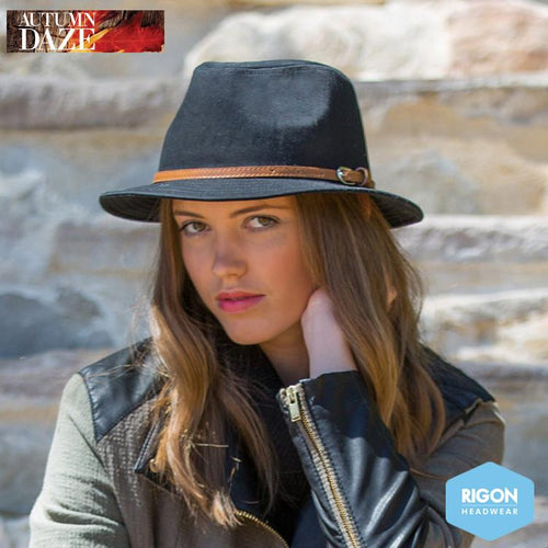Alana Canvas Trilby hat by Rigon