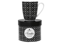 Load image into Gallery viewer, Amelia Geometric Floral Coupe Mug