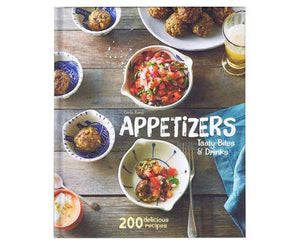 Appetizers: Tasty Bites & Drinks Cookbook