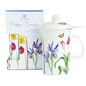 Ashdene Cottage Garden 3 Piece Infuser Set