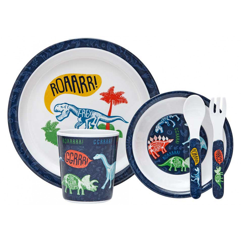 Ashdene Dinoroar Kids Dinner Set