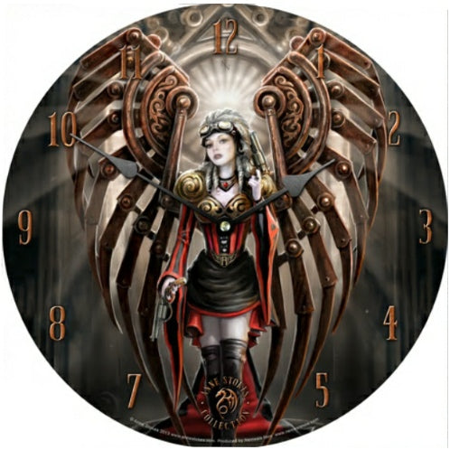 Avenger Clock by Anne Stokes