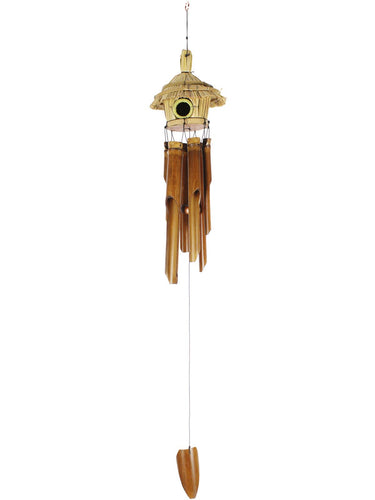 Bamboo Windchime Hut