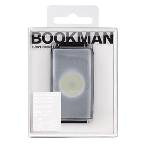 BIKE LIGHT Rechargeable Curved  - Black - by Bookman