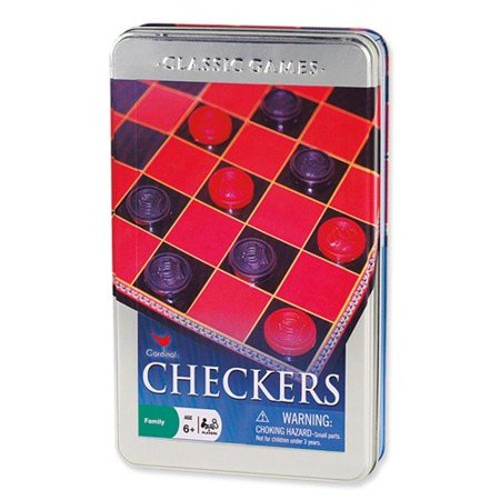 Checkers in a Tin - Cardinal Games