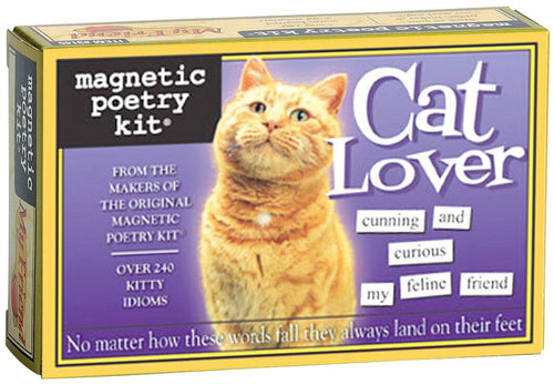 Magnetic Poetry Kit - Cat Lover