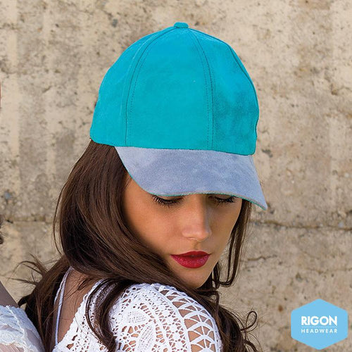 Celeste Suede Baseball Cap by Rigon