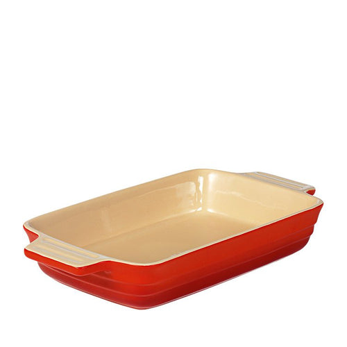Rectangular Baker Dish Red  XL  Chasseur La Cuisson