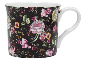 Ebony Rose Wide Flare Mug by Ashdene