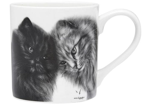Feline Friends Bonding Buddies City Mug by Ashdene