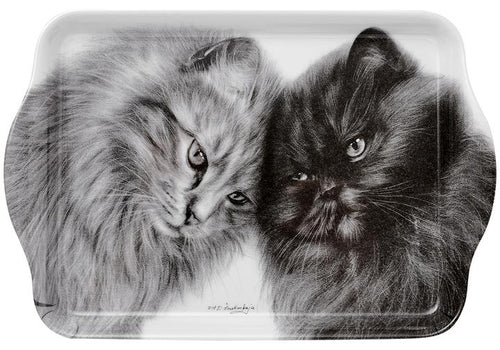 Feline Friends Bonding Buddies Scatter Tray by Ashdene