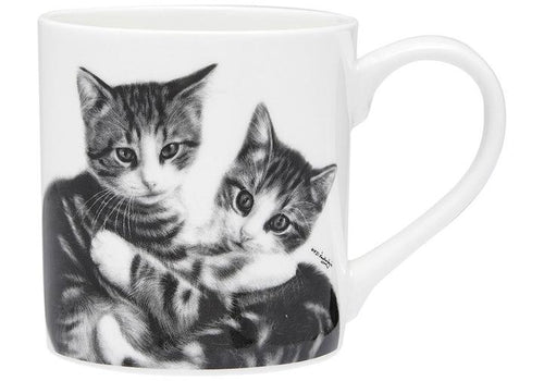 Feline Friends Cuddling Kittens City Mug by Ashdene