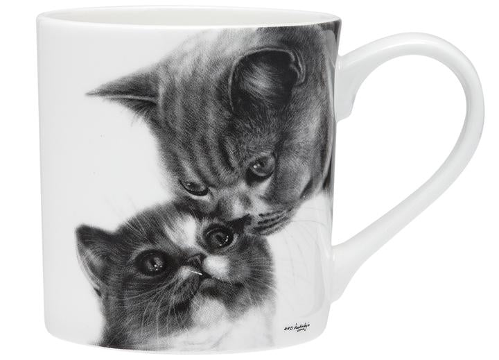 Feline Friends Mothers Love City Mug by Ashdene
