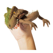 Load image into Gallery viewer, Freaky Face Trex Hand Puppets