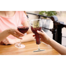 Load image into Gallery viewer, Fred Wine Enthusiast  Wine Glass