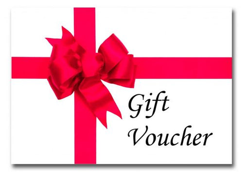 *Gift Vouchers* Starting at $10.00