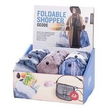 Load image into Gallery viewer, IS GIFT Foldable Shopper With Clip - Geode