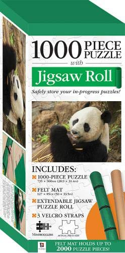 Jigsaw Roll with 1000-Piece Puzzle-Panda