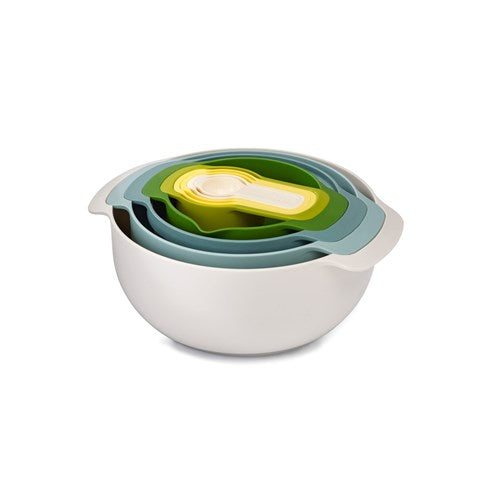 Joseph Joseph Nest 9 Piece Mixing Bowl/Measuring Spoon Set