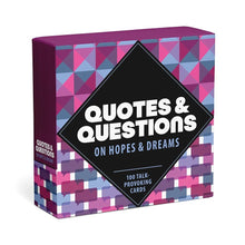 Load image into Gallery viewer, Knock Knock Quotes & Questions On Hopes & Dreams