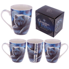 Load image into Gallery viewer, Guardian of the North Wolf Mug by Lisa Parker