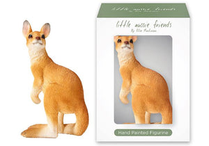 Little Aussie Friends Kangaroo Figurine - Ashdene