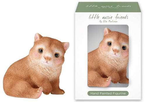 Little Aussie Friends Wombat Figurine - Ashdene