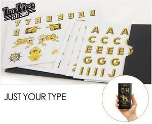 Just Your Type Phone & Tablet Stickers