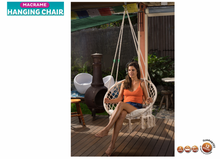 Load image into Gallery viewer, Macrame Hammock Chair