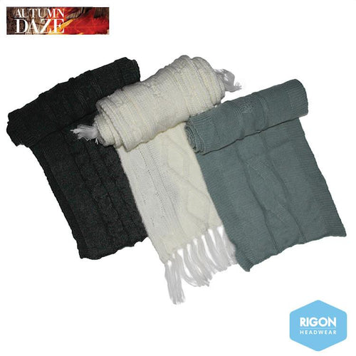 Mary-Jane Knitted Winter Scarves
